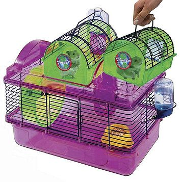 Hamster Traveler Kit Hamster House Small Pets Plastic Hamster Cage