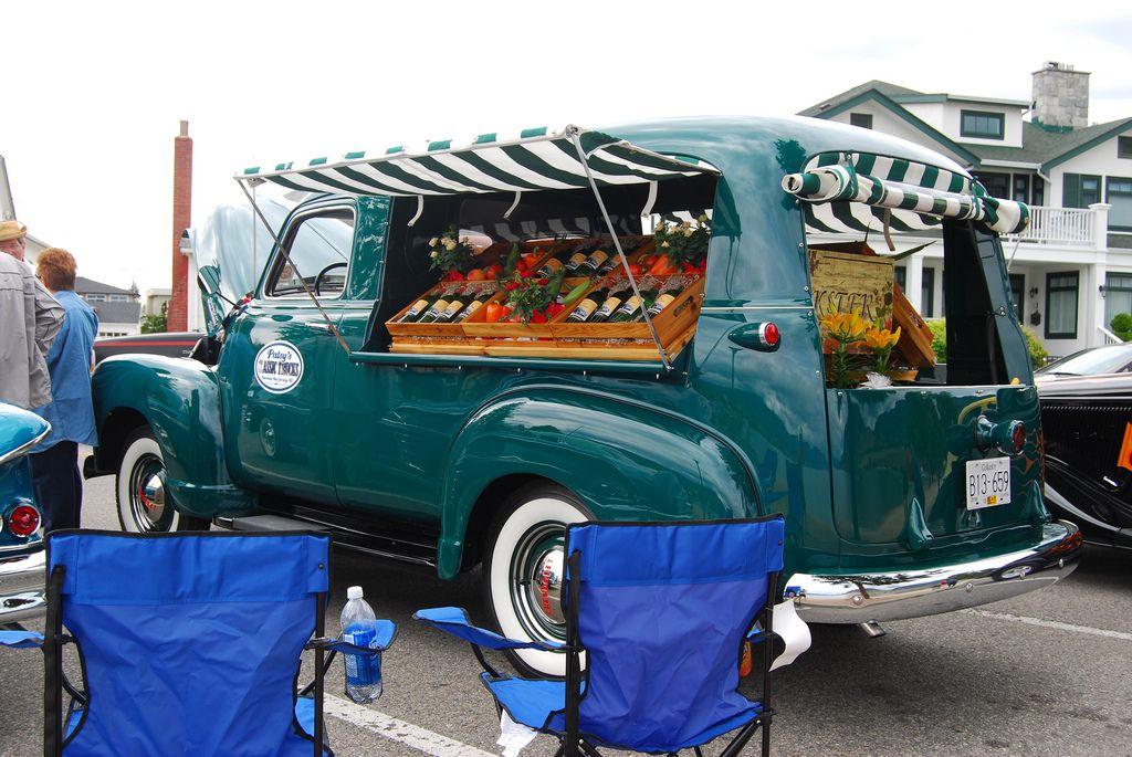 1949 Chevrolet Canopy Express Panel Truck Chevrolet Farm Trucks