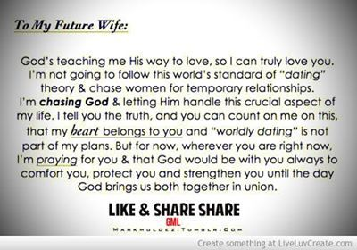 I Thought This Was Beautiful Future Husbands Love What God Is Going