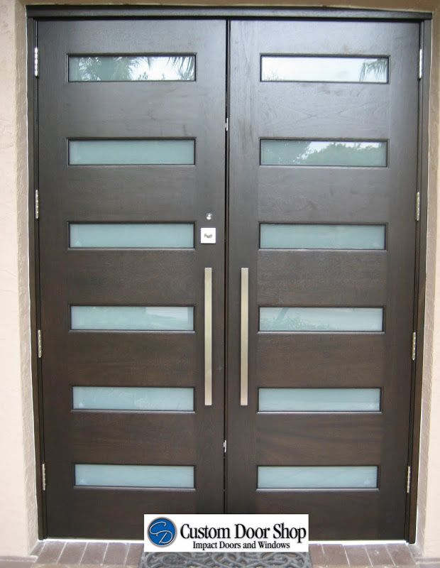 Modern Front Doors With Glass