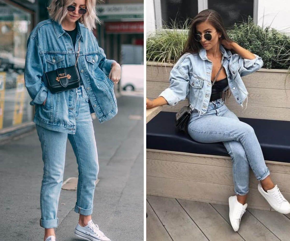 Como usar jaqueta jeans: 7 dicas incríveis | Jaquetas de