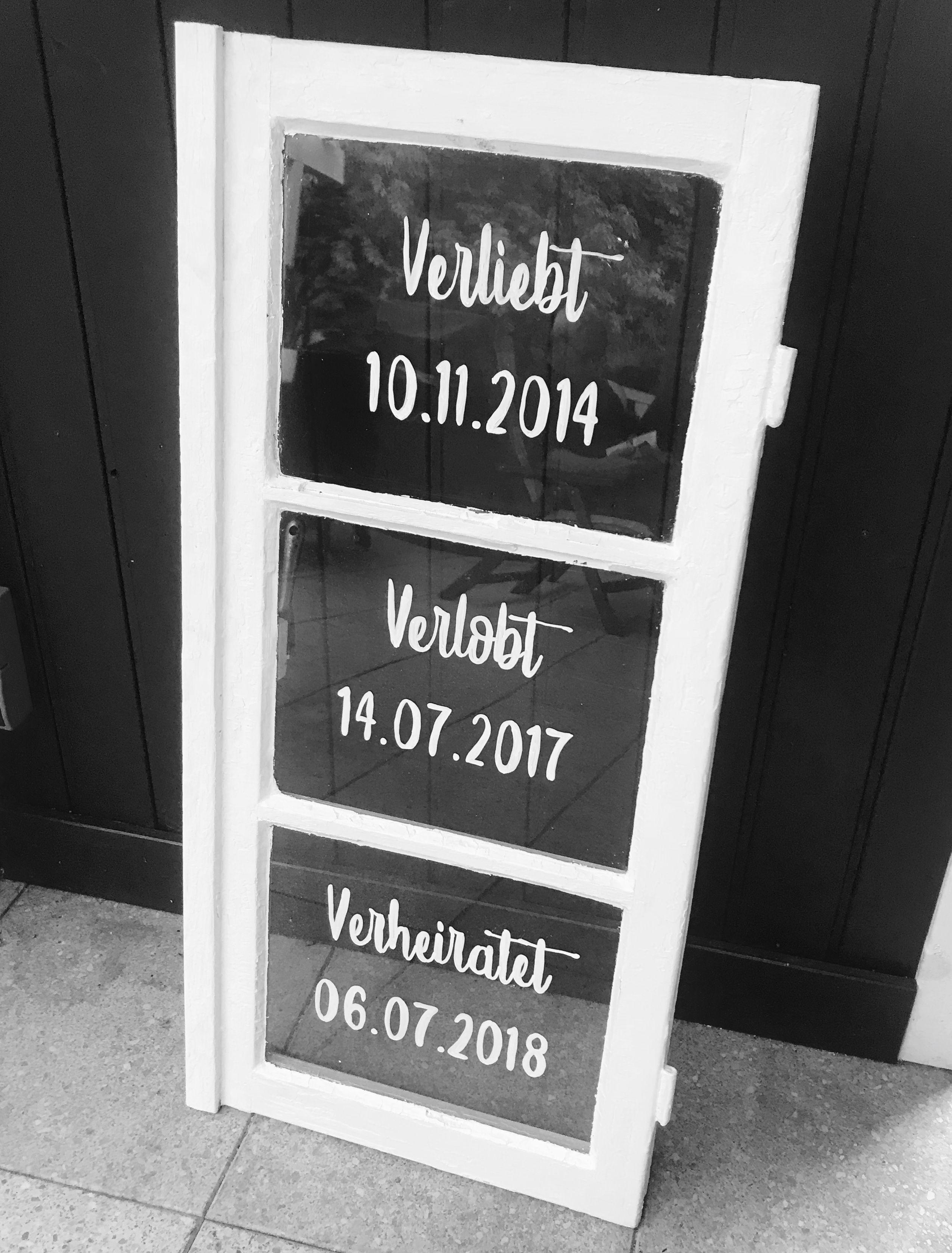 Diy Fenster Fur Die Hochzeitsdeko Hochzeit In 2018 Pinterest