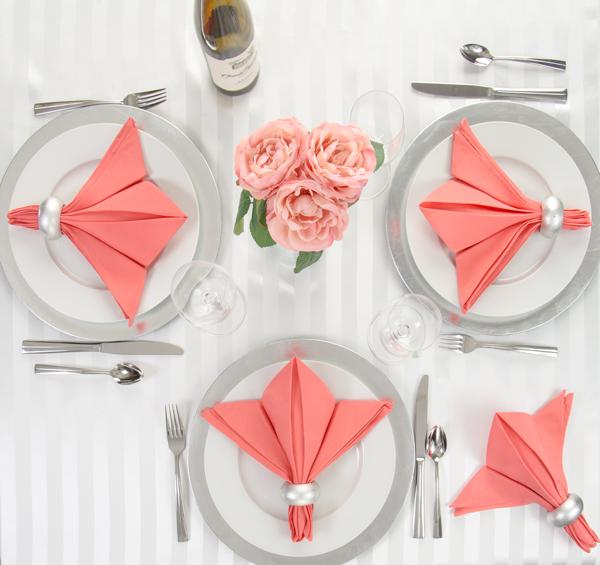 Fleur de linentablecloth napkin fold linentablecloth for 10 easy table napkin folding