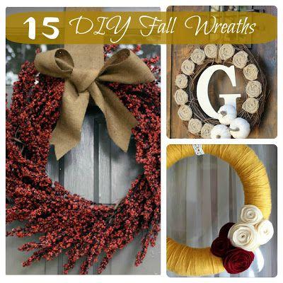 15 Fabulous DIY Fall Wreaths - Inspiration For Moms