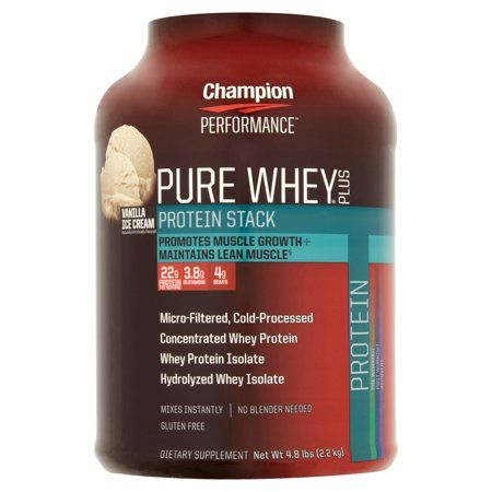 Health Protein Ice Cream Pure Whey Vanilla Ice Cream