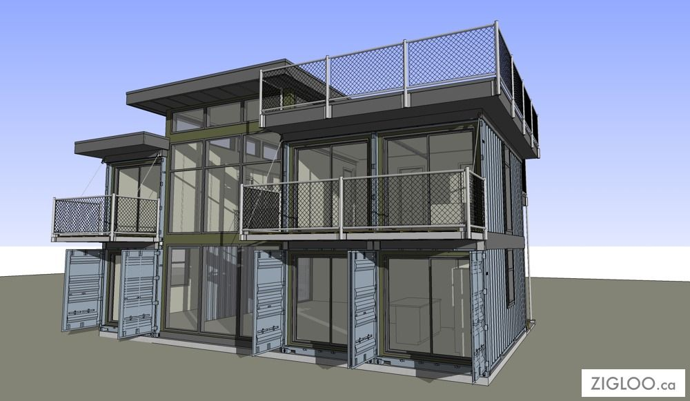 Shipping Container Home Design Plans On With HD Resolution .