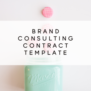 Brand Consulting Contract Template From The Contract Shop