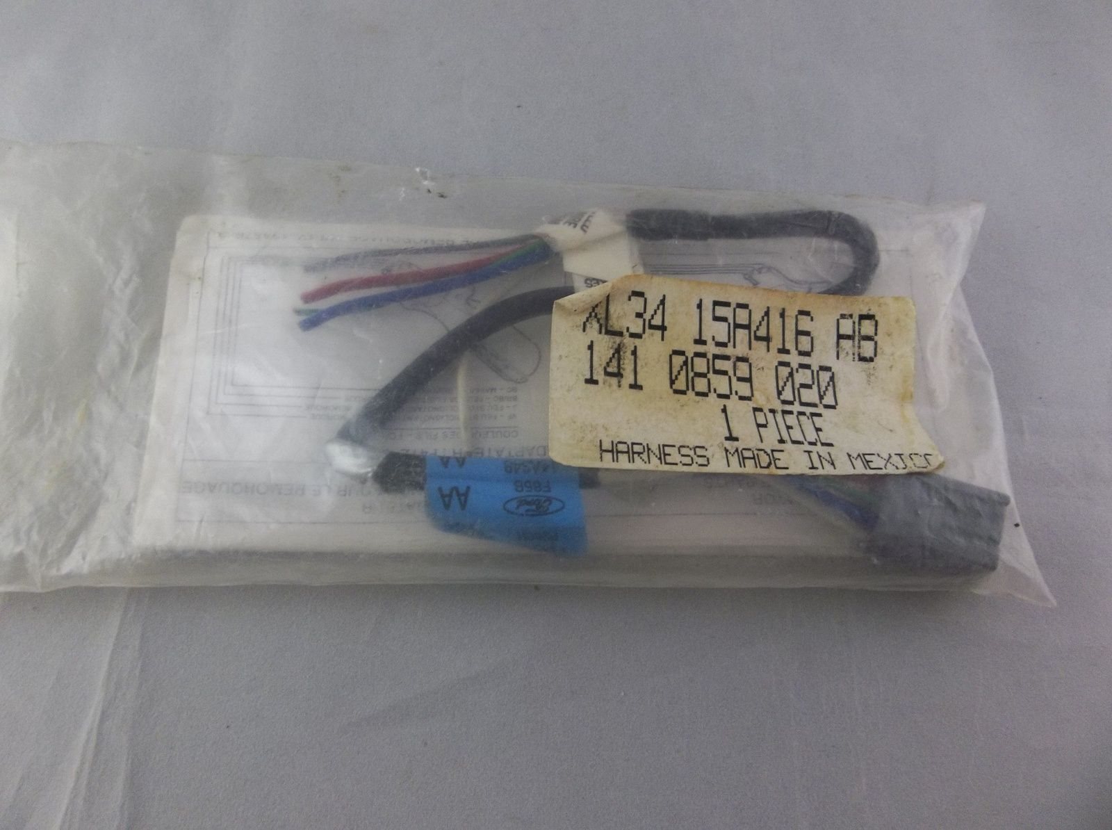 97 02 Ford F150 F250 Expedition Navigator Trailer Light Harness 2002 Wiring 1997 Oem F85b14a348p260h