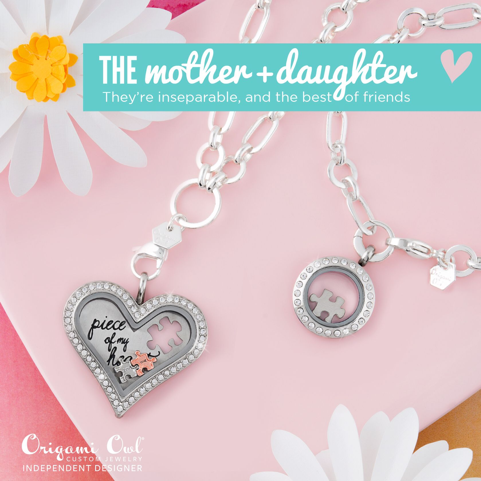 Pick a look to match her style... Do you have two special ladies in your life? #MotherDaughter #ValentinesDay #giftideas