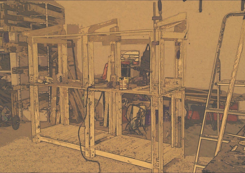 Comenzaremos  con la presentación de nuestra es pectacular  LE Ñ ERA           (60 x 180 x 210 cm)                A provec...