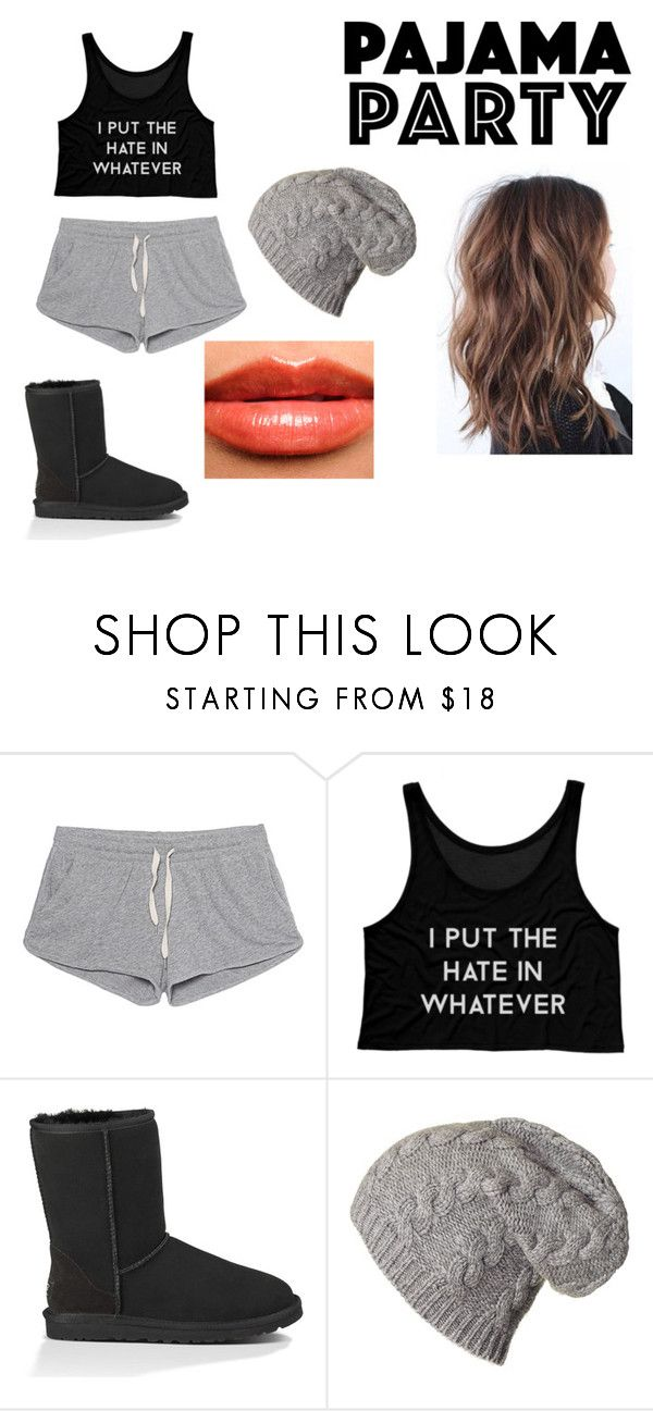 """""""Pajama party"""" by no-play-qveen on Polyvore featuring American Vintage, UGG Australia and Burberry"""