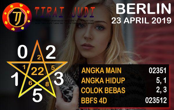 Prediksi Togel Berlin 23 April 2019 | Berlin, Tanggal, Hidup