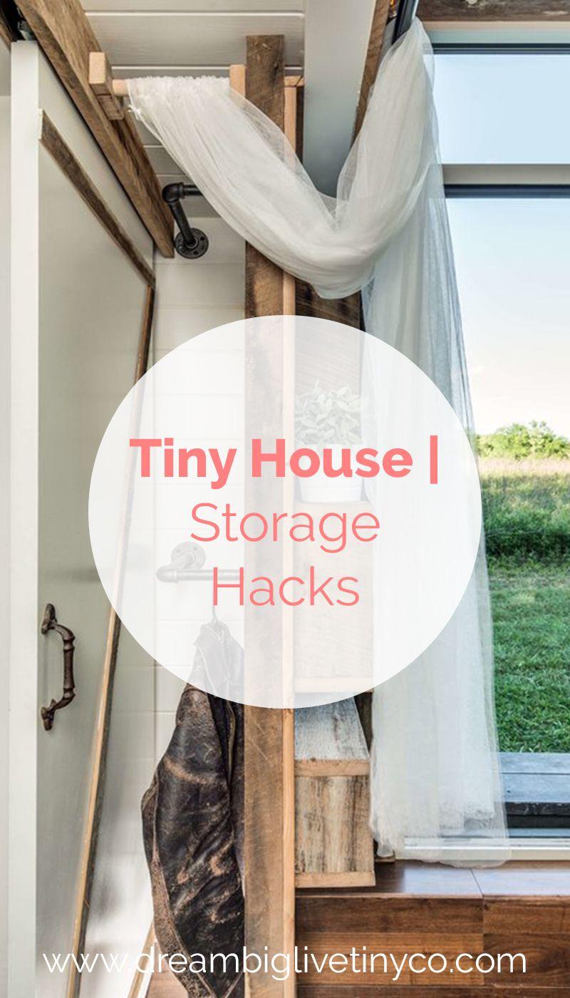 Tiny House Storage Hacks image by Dream Big Live Tiny Co