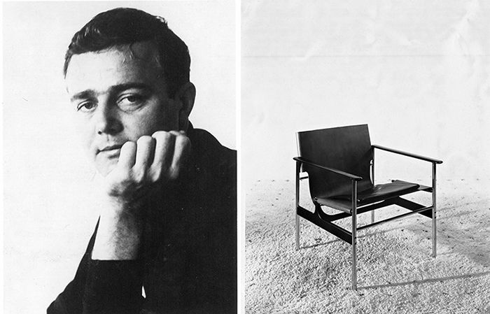 It has been more than half a century since the late Charles Pollock designed what was then called the Model 657, a minimal chair of polished chrome steel tubing and natural cowhide. | Knoll Inspiration