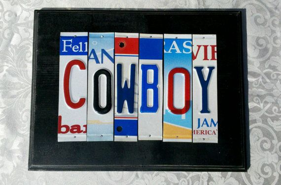 Custom License Plate Sign 5 To 7 Letters By YesterdayOriginals