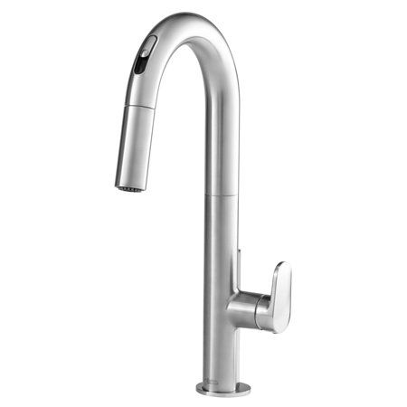 American Standard Beale Single Handle Pull Down Kitchen Faucet With Selectronic Hands Free Technology In Stainless Steel In 2019 Products Touchless Faucet