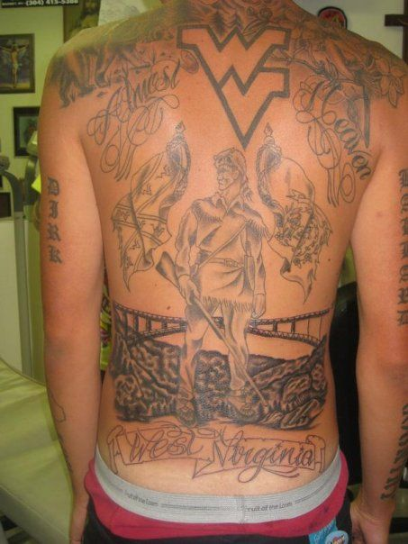 West Virginia Tattoo Ideas : virginia, tattoo, ideas, Couchfiresports.com, Virginia, Tattoo,, Tattoos,, Tattoo