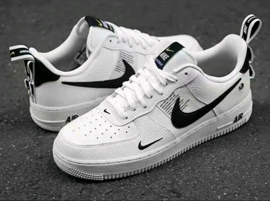 check out ab801 2e05a Nike Air Force 1 07 lv8 low Utility Olive White AJ7747-300 men size 5-9   fashion  clothing  shoes  accessories  mensshoes  athleticshoes (ebay link)