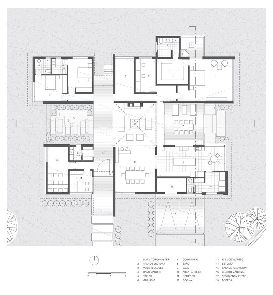 Gallery Of Ao House Studio Alfa 26 House Plans House Floor Plans House