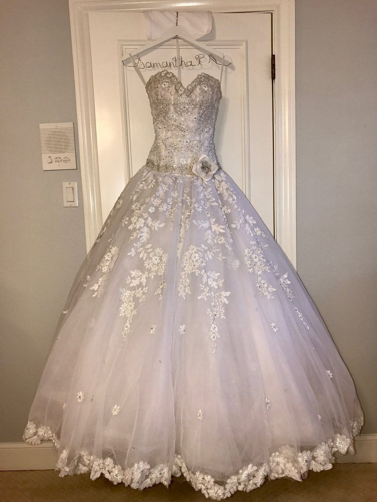Beautiful eve of milady ball gown worn for a debutante ball the