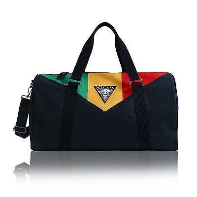 2209d78f6d VIDA clothing Duffle Bag Weekend Sport Travel Rasta Reggae Roots Black Gym  Bags in Clothing