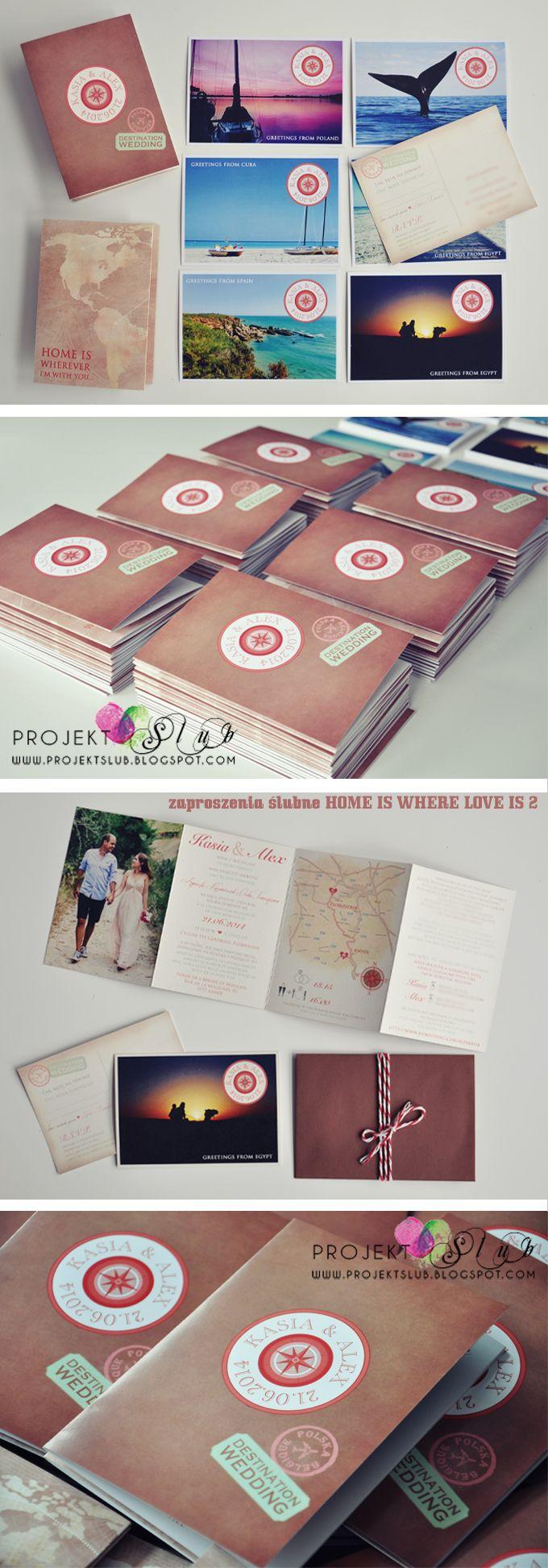 4 6 Vintage Zaproszenia Od Projekt A Lub Bridelle Wedding