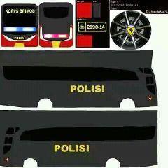 Strobo Bus Stiker Mobil Mobil Modifikasi Mobil