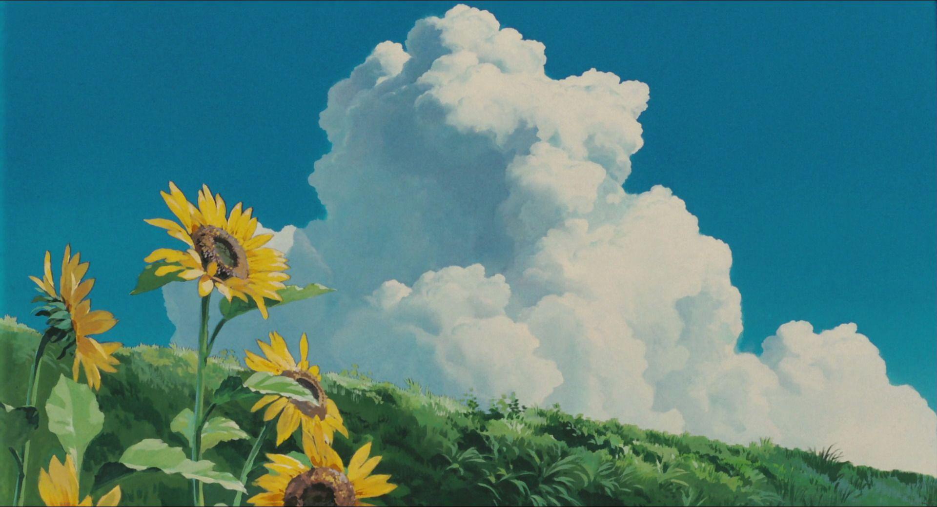 Studio Ghibli Skies Google Search Studio ghibli