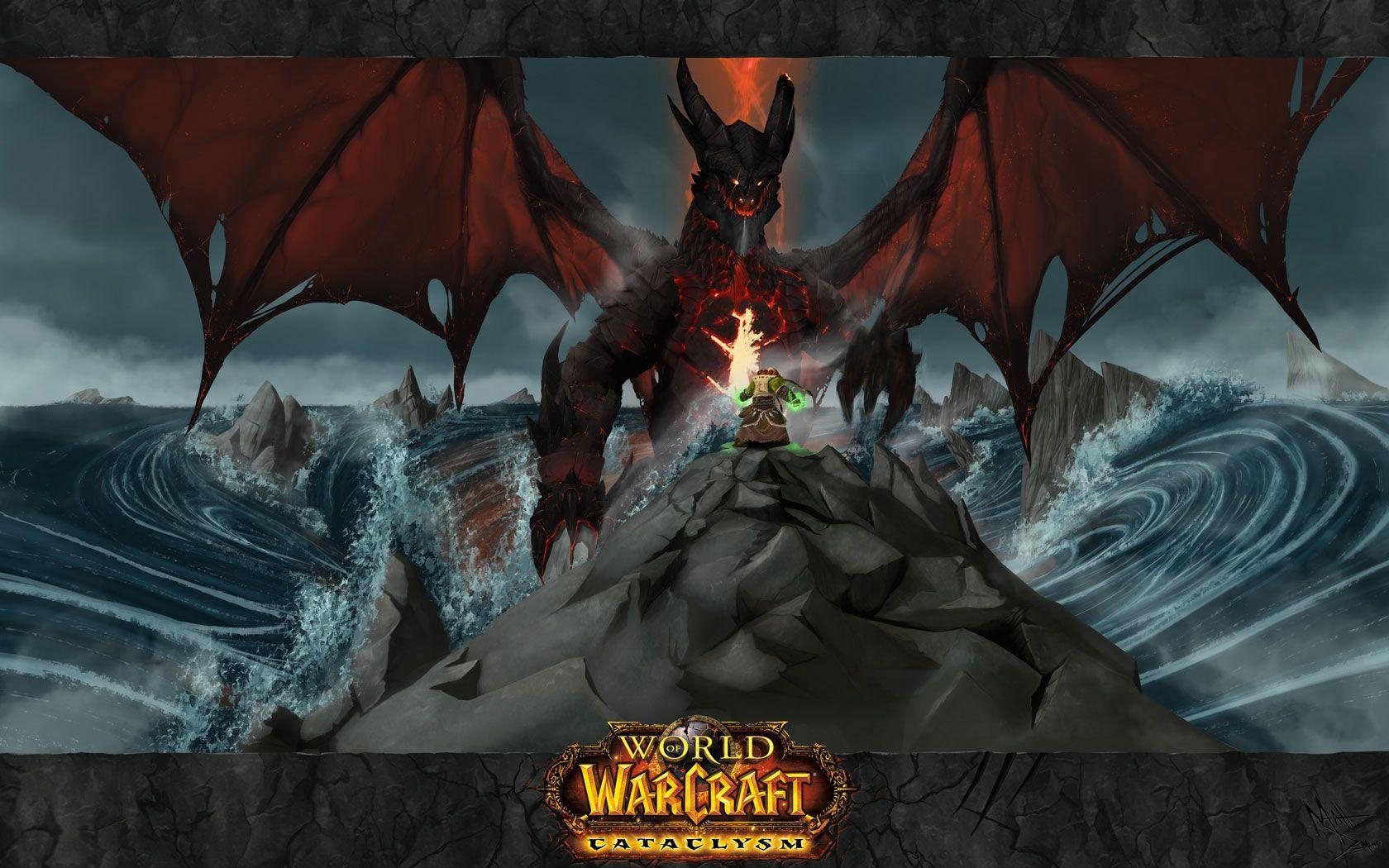 World Of Warcraft Cataclysm Wallpaper Minimalism World