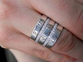 """Fresh take on the """"mother's"""" ring/s"""