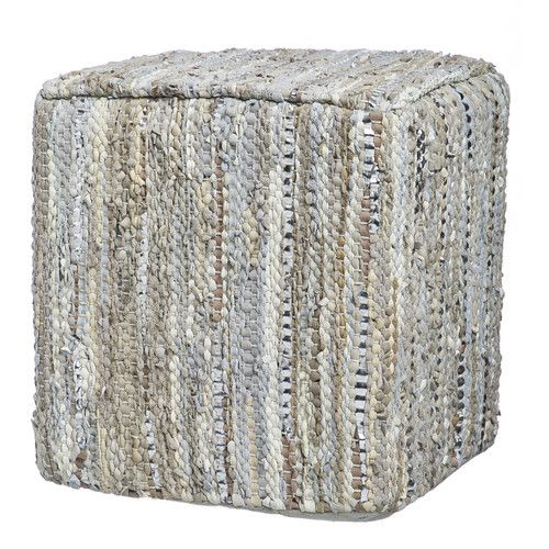 Found It At Joss Main Everly Leather Pouf Man Cave Pinterest Stunning Nook Pouf