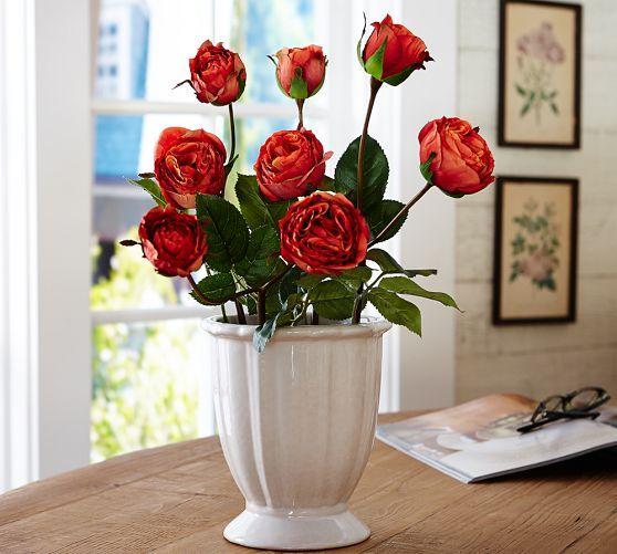 Faux Tea Rose Stem Rust Rose Stem Tea Roses Rose