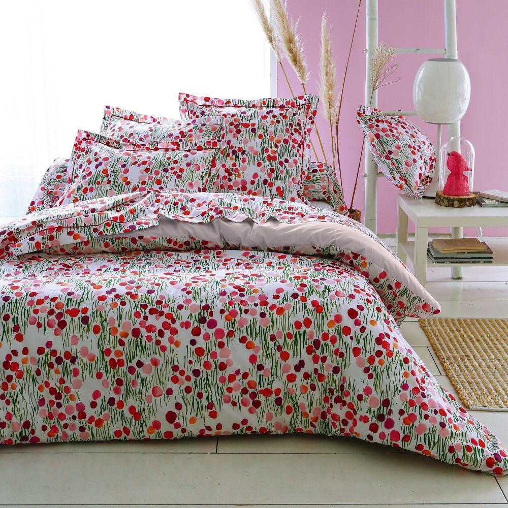 linge de lit bagatelle en coton