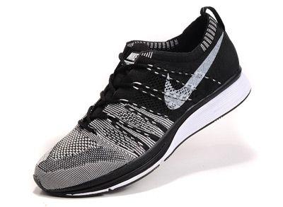 47deb7297161 Nike Flyknit Trainer Women Gray Black