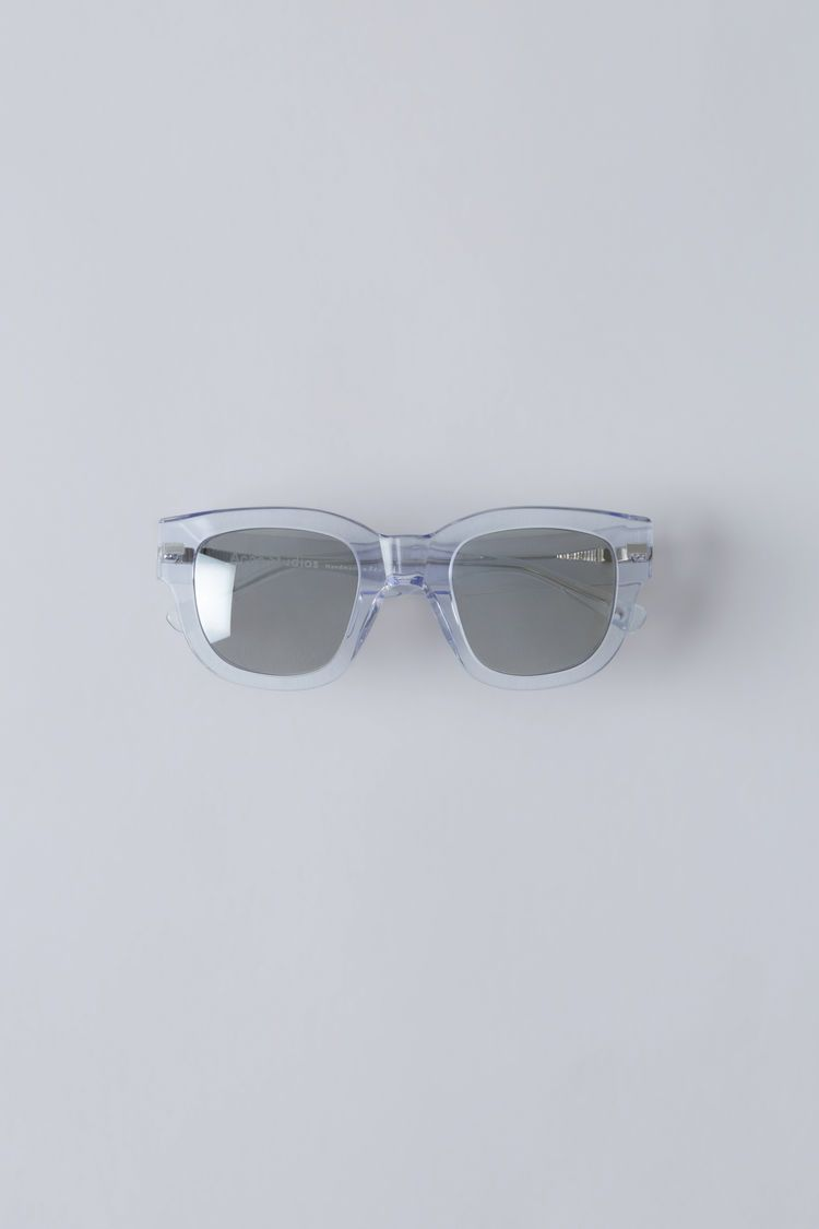 Mirror Frame Glasses Acne Studios Frame Clear Silver Mirror Are Handmade Square