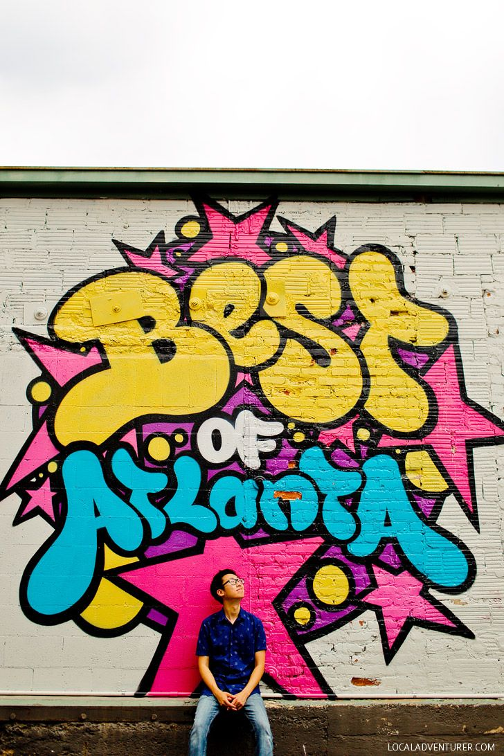 Graffiti wall atlanta - 25 Most Popular Instagram Spots In Atlanta Georgia