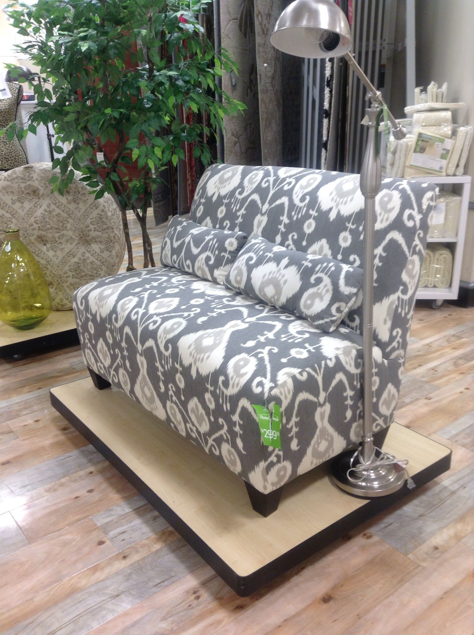 Home goods settee $300 too small Stuff Pinterest