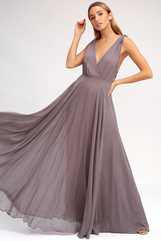 Dance The Night Away Dusty Purple Backless Maxi Dress In 2020 Dusty Purple Dress Purple Maxi Dress Maxi Dress Green