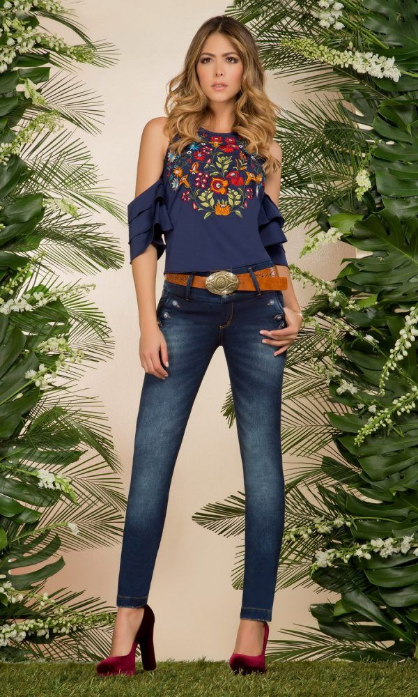 Vestido de jeans para dama bogota