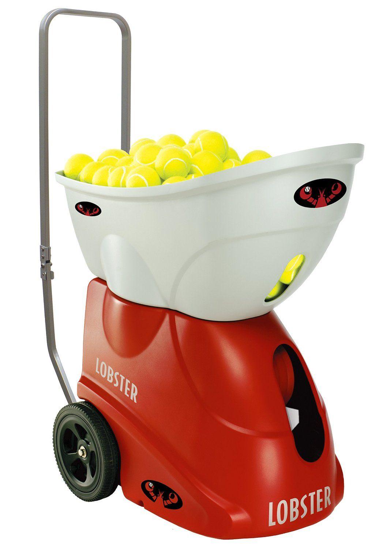 Lobster Sports Elite Freedom Portable Tennis Ball Machine Review Tennis Ball Machines Tennis Ball Tennis