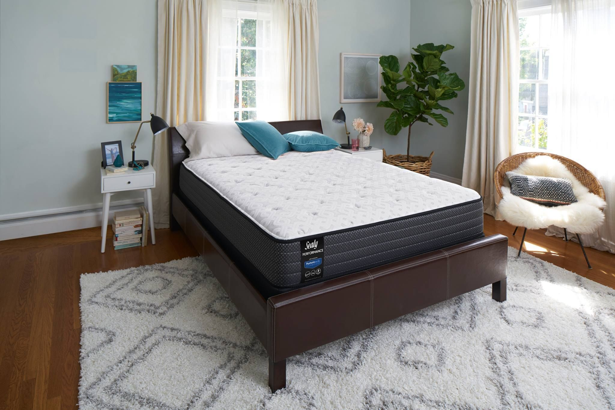 The Sealy Posturepedic Heartwarming Cushion Firm Mattress A Traditional Innerspring Option That Responds To Your Every Movement And Offers An Exceptional