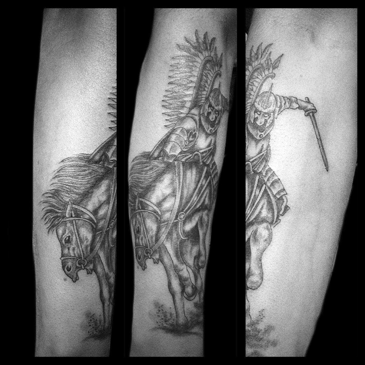 Wzór Husarza Tatuaż Wykonany W Studiu Time4tattoo Wwwtime4tattoo