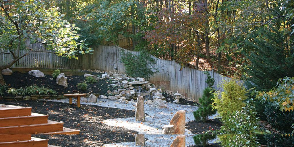 Delightful Photo Courtesy Of Shady Grove Landscape Company, Japanese Theme Garden