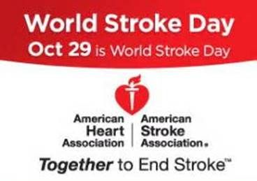 World Stroke Day Wednesday October 29th World Stroke Day Positive Outlook On Life Words Of Encouragement