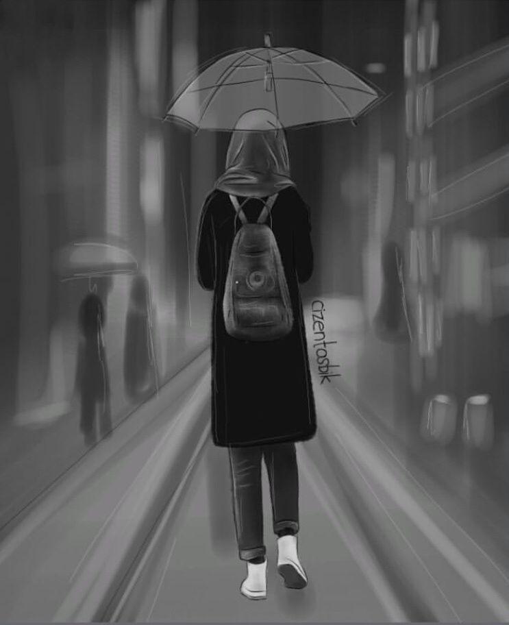 Pin Oleh Hakuuna Mattata Di Cizim Ilustrasi Orang Fotografi Hitam Putih Wanita Bergaya