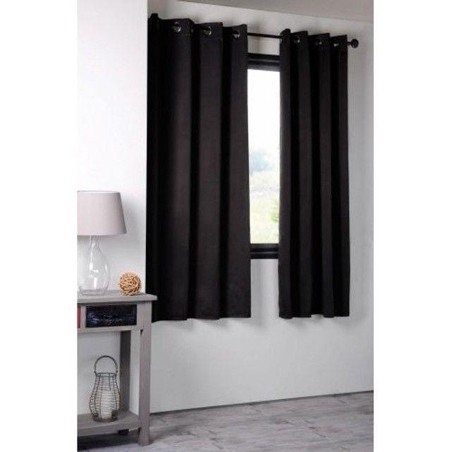 Rideau Occultant Uni 210grm2 Deco Curtains Et Home Decor