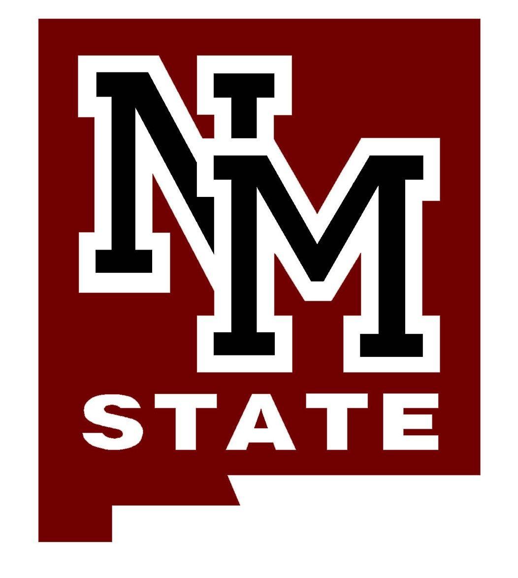 Gooo Aggies New Mexico State University New Mexico University Logo