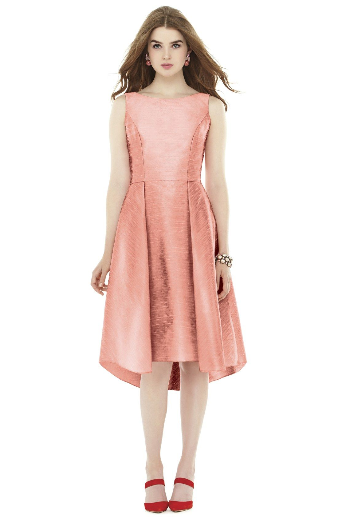 New alfred sung bow back dupioni fit flare midi dress fashion online new alfred sung bow back dupioni fit flare midi dress fashion online 198 bridesmaid ombrellifo Choice Image