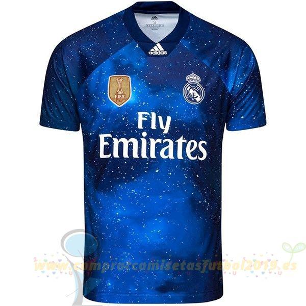 Nueva Replicas Ea Sport Camiseta Real Madrid 2018 2019 Azul Marino Real Madrid Ea Sports Sports