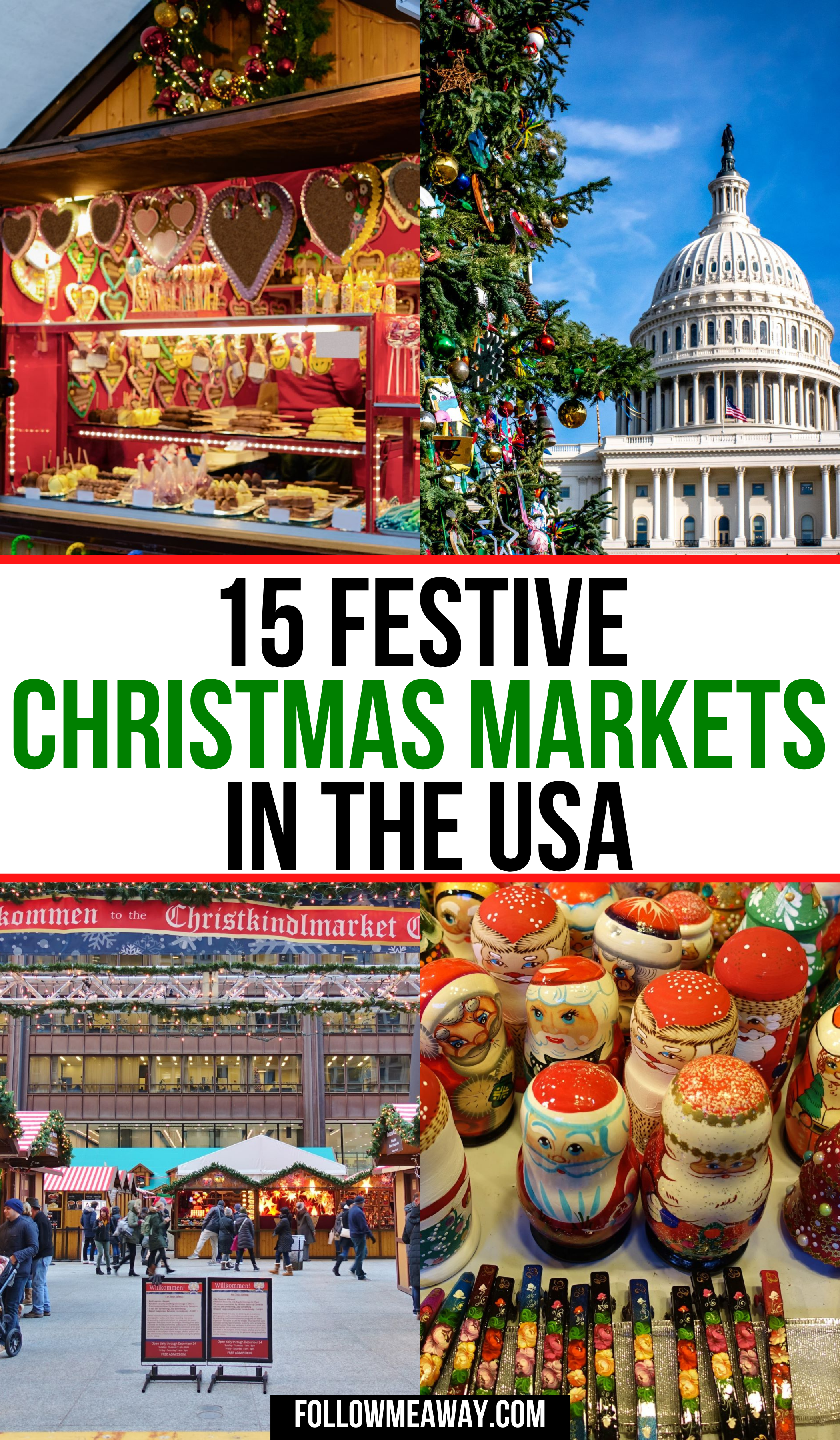Christmas Market In Usa 2020 15 Festive Christmas Markets In The USA in 2020 | Usa travel guide